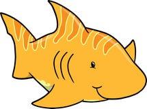 Shark Vector Illustration Royalty Free Stock Photo