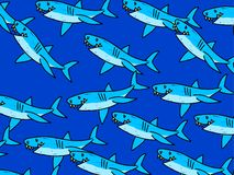 Shark wallpaper Royalty Free Stock Photo