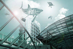 Shark world Stock Images