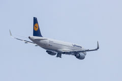 A320-200 Sharklets Lufthansa D-AIZQ Royalty Free Stock Image