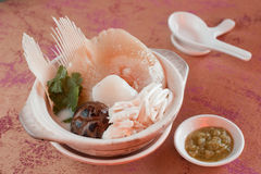 Sharks Fin Soup Royalty Free Stock Images