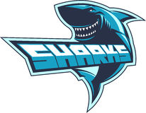 Sharks logo Royalty Free Stock Photography
