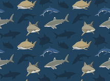 Sharks Wallpaper 8 Royalty Free Stock Images