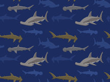 Sharks Wallpaper 15. Animal Wallpaper EPS10 File Format stock illustration