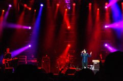 Sharleen Spiteri from Texas band on stage royalty free stock photos