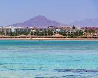Sharm El谢赫埃及 库存图片