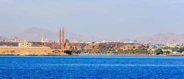 Sharm El谢赫新的清真寺 免版税图库摄影