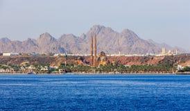 Sharm El谢赫新的清真寺 免版税库存照片