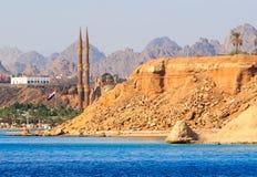 Sharm El谢赫新的清真寺 库存图片