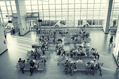 """Sharm El谢赫,埃及†""""6月12日:候诊室在2015年6月12日的机场, 库存图片"""