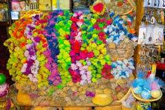 Sharm El谢赫,埃及- 2017年4月13日:礼品店 库存图片