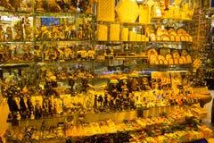 Sharm El谢赫,埃及- 2017年4月13日:礼品店 免版税库存照片
