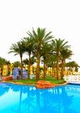 Sharm El谢赫,埃及- 2017年4月13日:豪华五个星旅馆RIXOS希捷SHARM 免版税库存图片