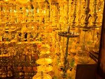 Sharm El谢赫,埃及- 2017年4月13日:水烟筒在礼品店 免版税库存图片