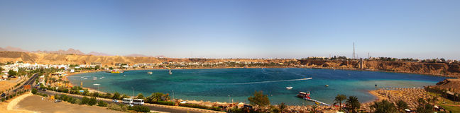 Sharm el Sheik panorama Royalty Free Stock Images