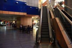 "Sharm el Sheikh, ÄGYPTEN-†""am 12. Juni: Rolltreppen am Flughafen am 12. Juni 2015 Stockbilder"