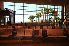 """Sharm el Sheikh, ÄGYPTEN-†""""am 12. Juni: Warteraum am Flughafen am 12. Juni 2015 Stockbild"""