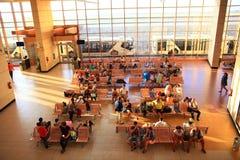 "Sharm el Sheikh, ÄGYPTEN-†""am 12. Juni: Warteraum am Flughafen am 12. Juni 2015 Lizenzfreie Stockfotos"