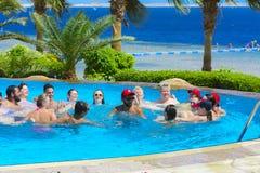 Sharm el-Sheikh, Ägypten - 14. März 2018 Das Eignungskonzept, Lizenzfreies Stockbild