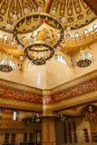 SHARM EL-SHEIKH, ÄGYPTEN - 16. OKTOBER 2018 Innenraum von Sahaba MOS stockfotografie