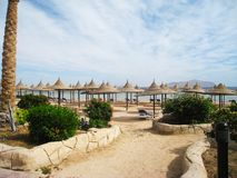 Sharm el Sheikh är den bästa tidsfördrivet arkivbild