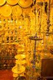 Sharm El Sheikh, Египет - 13-ое апреля 2017: Кальян на сувенирном магазине Стоковое Изображение RF