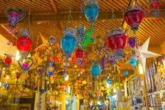 Sharm El Sheikh, Египет - 13-ое апреля 2017: Сувенирный магазин Стоковое Фото
