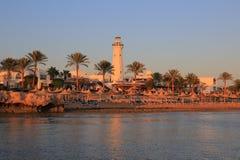 Sharm El-Sheikh на заходе солнца Стоковые Фото