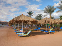 Sharm El Sheikh Beach. Detail of Sharm El Sheikh Beach, Egypt, January 2005 Royalty Free Stock Photo