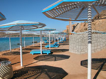 Sharm El Sheikh Beach. Detail of Sharm El Sheikh, Egypt. January 2005 Royalty Free Stock Image