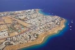Sharm El Sheikh de arriba Fotos de archivo