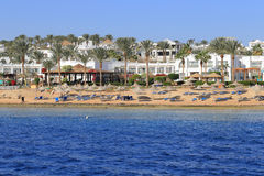 Sharm el Sheikh de côte Photos stock