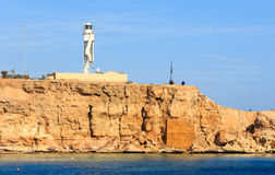 Sharm el Sheikh del faro Fotografía de archivo