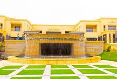 Sharm el Sheikh, Egipto - 13 de abril de 2017: El hotel de lujo RIXOS SEAGATE SHARM de cinco estrellas Imagen de archivo libre de regalías