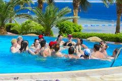 Sharm el-Sheikh, Egipto - 14 de marzo de 2018 El concepto de la aptitud, Fotos de archivo