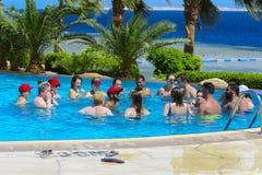 Sharm el-Sheikh, Egipto - 14 de marzo de 2018 El concepto de la aptitud, Imagenes de archivo