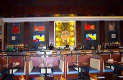 Sharm el Sheikh, Egypt -April 13, 2017: The interior of Sharm Hard Rock Cafe in Egypt Stock Images