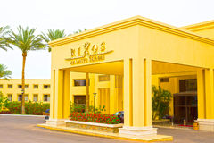 Sharm El Sheikh, Egypt - April 13, 2017: The luxury five star hotel RIXOS SEAGATE SHARM Stock Image