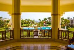 Sharm El Sheikh, Egypt - September 27, 2017: Buildings and Area Hotel Otium Hotel Amphoras Sharm 5. Sharm El Sheikh, Egypt - September 27, 2017: Buildings and stock photography