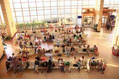 """Sharm el Sheikh EGYPTEN †""""JUNI 12: väntande rum på flygplatsen på JUNI 12, 2015 Fotografering för Bildbyråer"""