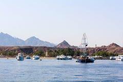 Sharm El Sheikh harbour Stock Image