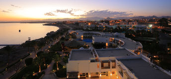 Sharm El Sheikh night Stock Photography
