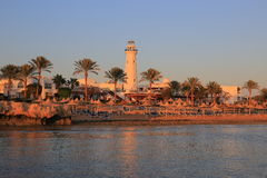 Sharm el-Sheikh at sunset Stock Photos