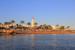 Sharm el-Sheikh at sunset Stock Photo