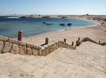 Sharm ELNaga - Ägypten Stockbild