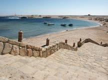 Sharm Gr Naga - Egypte Stock Afbeelding