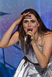 Sharon den Adel (Within Temptation). Within Temptation on Masters of Rock 2012 Royalty Free Stock Image