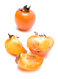 Sharon fruit isolated Royalty Free Stock Photo
