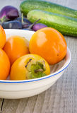 Sharon fruits Stock Photo