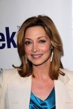 Sharon Lawrence no lançamento oficial de BritWeek, posição confidencial, Los Angeles, CA 04-24-12 Foto de Stock Royalty Free